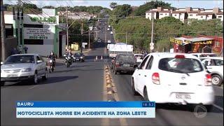 Bauru: Motociclista morre em acidente na av. Cruzeiro do Sul