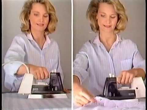 Rowenta Dampf-Bügeleisen Werbung 1988