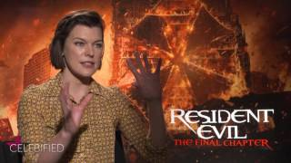 VIDEO: Talking RESIDENT EVIL: THE LAST CHAPTER with Milla Jovovich