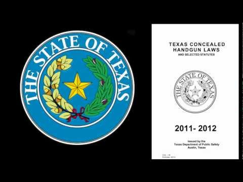 chl - This video is about the Texas CHL Statute PC 46.035 and its coverage of concealed carrying in various venues. We are specifically targeting the laws concerni...