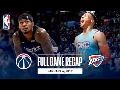 Video: Full Game Recap: Wizards vs Thunder | Russell Westbrook Records His 12th Triple-Double Of The Season