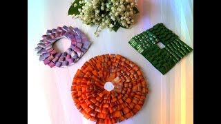 How to DIY Easy beautiful handmade decor craft tutorial | Лёгкий и красивый декор своими руками
