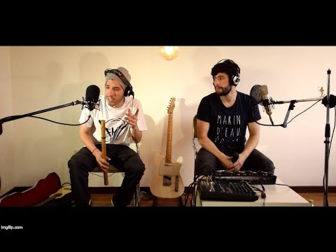 MB14 & Rez P - Trazando Libertad / Live Beatbox & Rap Looping Session (видео)