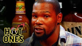 Video Kevin Durant Sweats It Out Over Spicy Wings | Hot Ones MP3, 3GP, MP4, WEBM, AVI, FLV Juni 2019