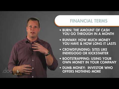 Key Startup Financial Terms – Creating The Killer Business Plan
