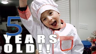 Video Happy Birthday To Our Five Year Old Baker MP3, 3GP, MP4, WEBM, AVI, FLV Januari 2018