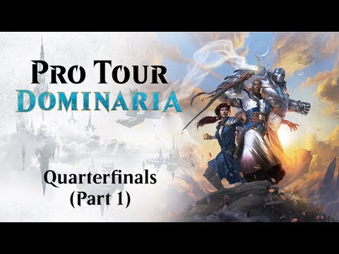Pro Tour Dominaria Quarterfinals: Takimura Vs. Carvalho & Lim Vs. Pinto