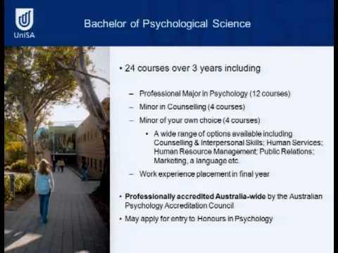 Psychologie - offener Tad2011 - Universität von Süd Australien