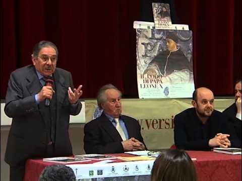 """Presentazione del libro """"Il Lodo di Papa Leone X"""" 6-04-2013 Parte 1"""