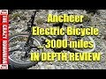 Depth review after 3000 miles