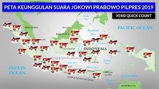 Download Video Perolehan Suara Jokowi Prabowo Pilpres 2019 di 34 Provinsi Versi Quick Count Poltracking MP3 3GP MP4