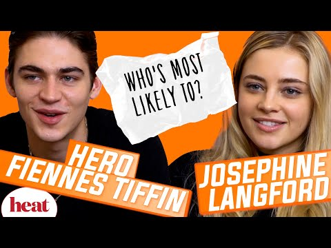 'I'm guilty of not replying to the After group chat' | Hero Fiennes Tiffin & Josephine Langford
