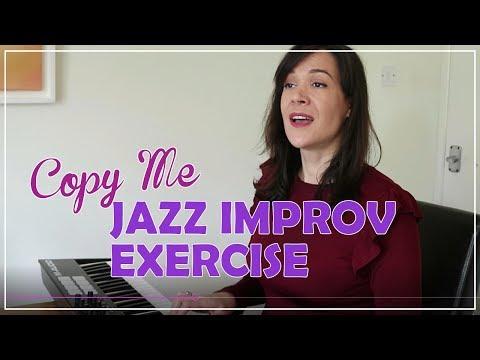 Copy Me Jazz-Scat Singing Exercise (видео)