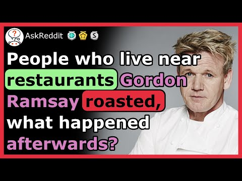 What happened to the restaurants Gordon Ramsay roasted?