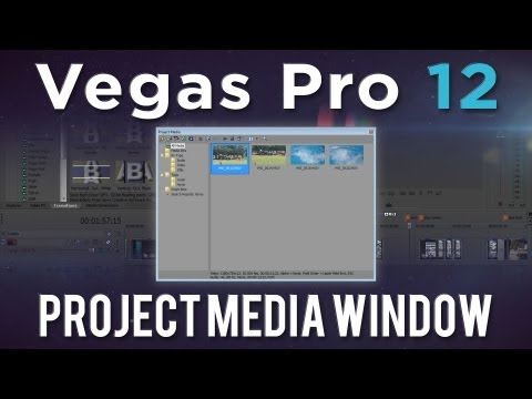 djbeto267 - Sony has added quite a few improvements in Vegas Pro 12. Today, we'll be taking a look at some of the new features brought into the Project Media Window. Art...