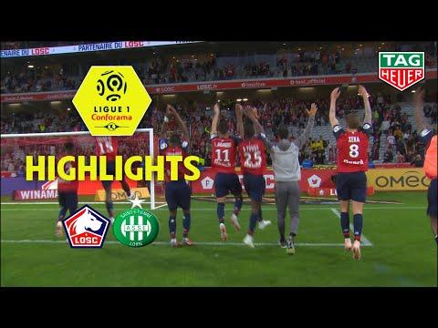 LOSC - AS Saint-Etienne ( 3-1 ) - Highlights - (LOSC - ASSE) / 2018-19