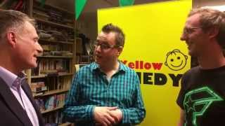 Andrew Carberry and Andy Harland of Yellow Comedy
