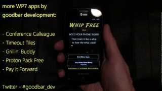 Video review Whip - 1.7.0.0