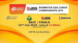 Video (Finals) Badminton Asia Junior Championships 2018 MP3, 3GP, MP4, WEBM, AVI, FLV November 2018