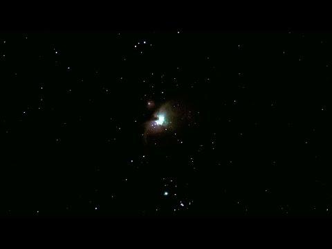 Orion Constellation & Nebula Plus 2 Odd Split Second Flashes - (Canon 90D Camera)
