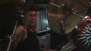Nicko McBrain @ Rock n Roll Ribs 5th Anniversary Party 12/6/2014