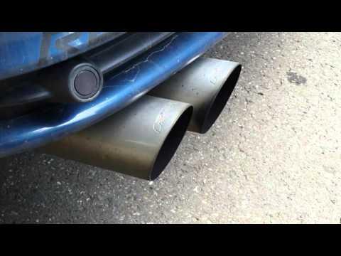 BMW E46 318Ci Coupe FSW Exhaust / FSW Anlage