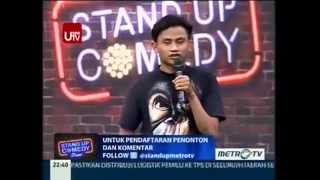 Anyun @ Stand Up Comedy Show MetroTV 8 April 2014