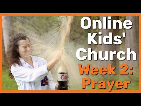 Children's Church Video Series – Spyence Season 0, Episode 2 – Prayer