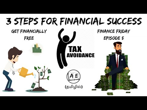 3 STEPS FOR FINANCIAL SUCCESS TAMIL| FINANCE FRIDAY EPISODE 5 | INVESTMENT PLAN | almost everything
