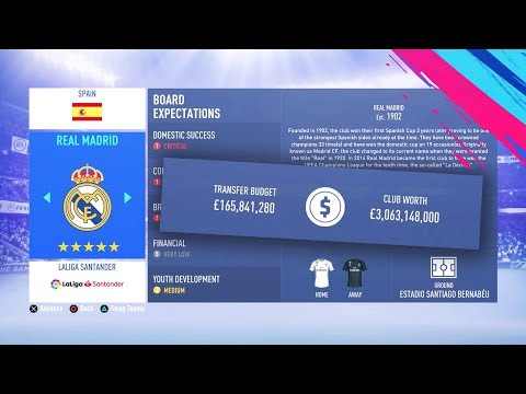 FIFA 19 CAREER MODE - TOP 10 HIGHEST BUDGETS!!!