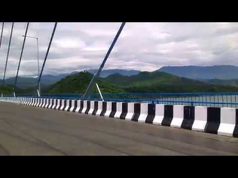 Longest cable  bridge in north india basoli (J&K)