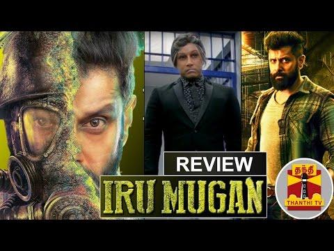 Iru-Mugan-Movie-Review-by-Thanthi-TV-Vikram-Nayantara-Nithya-Menen-Anand-Shankar