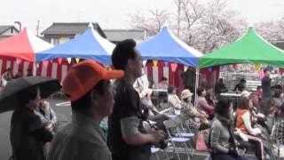 羽黒コミ五条川桜まつり2)和太鼓ダンス