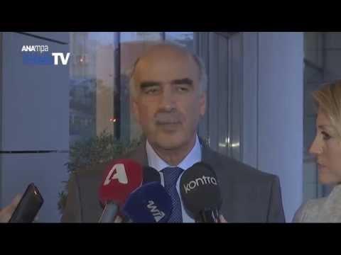 Την παραίτησή του από την προεδρία της ΝΔ, ανακοίνωσε επίσημα, ο Β. Μεϊμαράκης