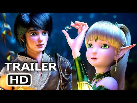 Throne Of Elves Official Trailer (2018) Animation Movie Hd
