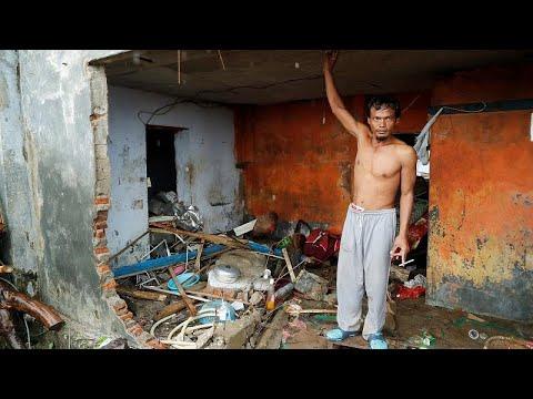 Ινδονησία μετά την καταστροφή: Έρευνες για επιζώντες και απολογισμός…