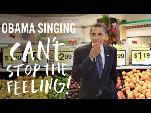 Barack Obama Sings Justin Timberlake s Can t Stop The
