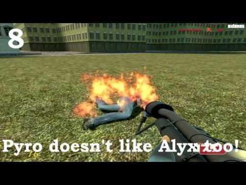 13 Ways to Kill Alyx (GMOD Machinima)