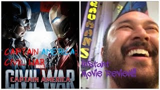 Captain America: Civil War - Instant Movie Review!!! by The Reel Rejects
