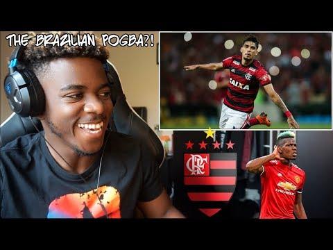 LUCAS PAQUETq - THE BRAZILIAN POGBA!! CRAZY SKILLS SHOW  Reaction