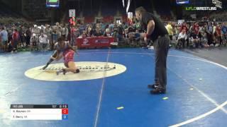 Junior WM 112 Round of 64 - Kasey Baynon (GA) vs. Trinity Berry (VA)