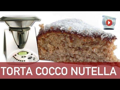 ricetta bimby: torta cocco e nutella