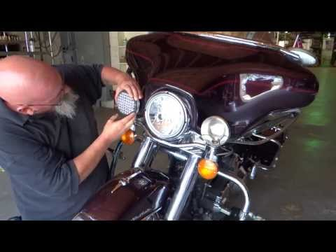 LEDLights 2850 Motorcyle Driving / Passing light install