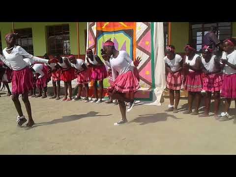 Oshiwambo cultural group in Tses