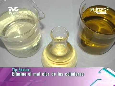 Elimina el mal olor de las coladeras metvc - Mal olor bano bote sifonico ...