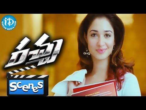 Video Racha Movie Scenes - Tamannaah's Introduction Scene || Ram Charan || Sampath Nandi download in MP3, 3GP, MP4, WEBM, AVI, FLV January 2017