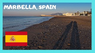 Costa del Sol Spain  City pictures : The spectacular beach of Marbella (Costa Del Sol, Spain)