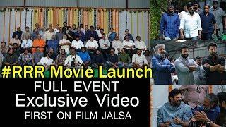 Video RRR Movie Opening Event Video | Rajamouli | Jr NTR | RamCharan | Chiranjeevi | Prabhas | Film Jalsa MP3, 3GP, MP4, WEBM, AVI, FLV November 2018