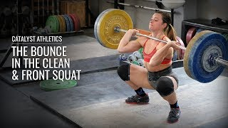 The Bounce - Using Elastic Energy For The Clean & Squat In Olympic Weightlifting  - The bounce is the use of elastic rebound to recovery more quickly and easily from the clean or squat.