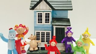 TELETUBBIES and IN THE NIGHT GARDEN Toys New House!